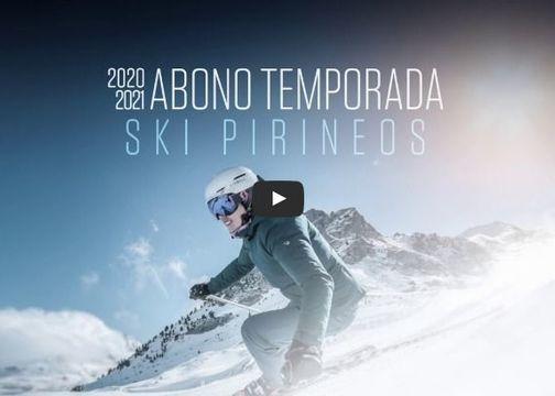 Ya a la venta el abono Ski Pirineos