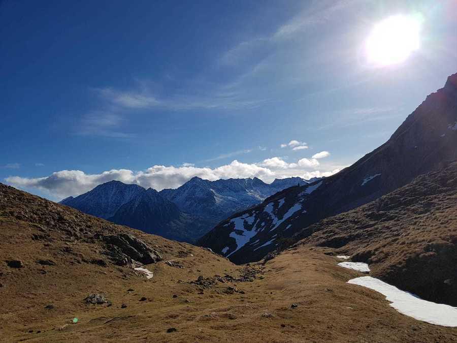 Esquí creativo en el Parc Natural de l'Alt Pirineu