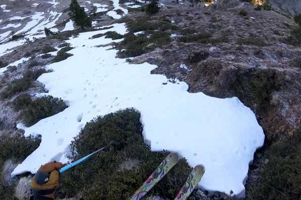 Esquí creativo en el Parc Natural de l'Alt Pirineu (30-11-2020)