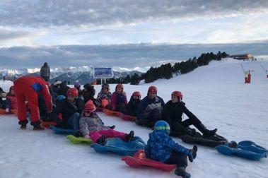 Les Angles presenta el Snake Gliss mas espectacular del Pirineo Oriental