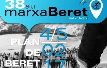 La 38º Marxa Beret se presenta con mucha nieve