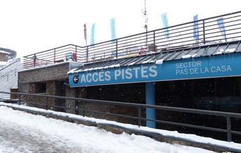 Cae la cifra de esquiadores que van al Pas de la Casa