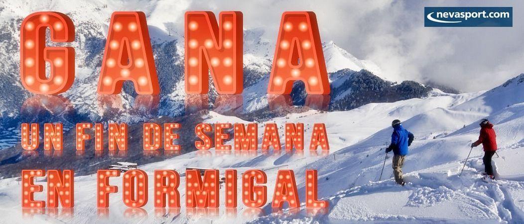 Sorteo en Instagram: gana dos días de hotel y forfait en Formigal