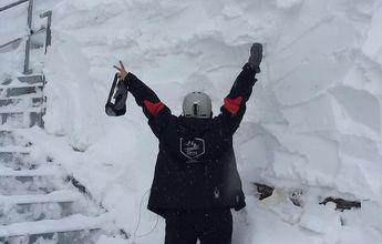 Ordino Arcalís ha registrado dos metros de nieve nueva en.. 11 días!