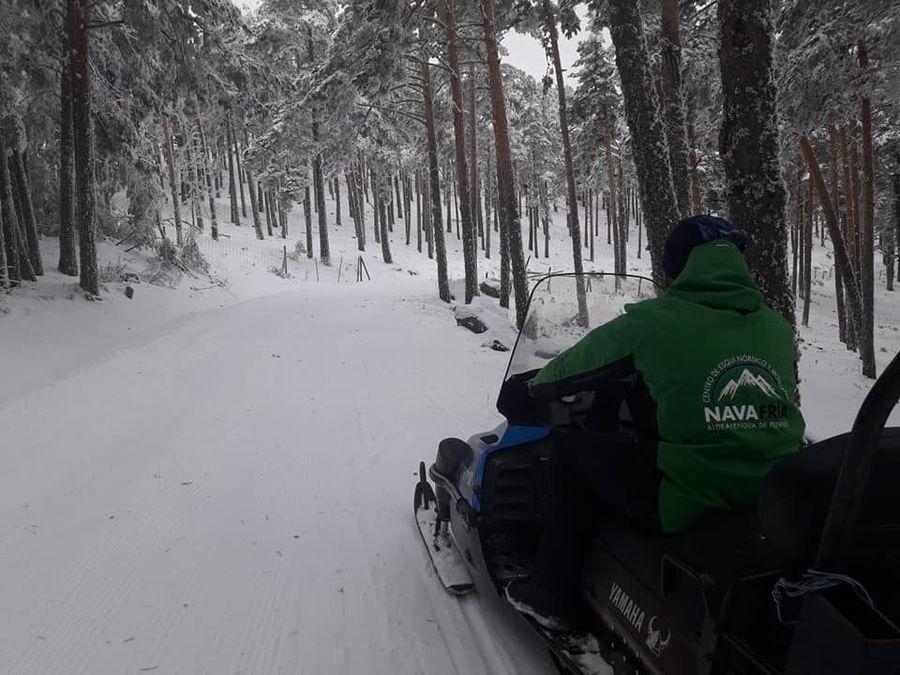 Centro de esquí nórdico de Navafria