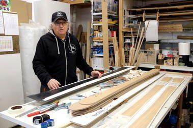 Josep Arisa: el carpintero de Sort que fabrica sus propios esquís y por encargo