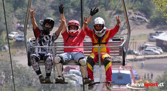 Últimos fines de semana del bike park de Nevados de Chillán