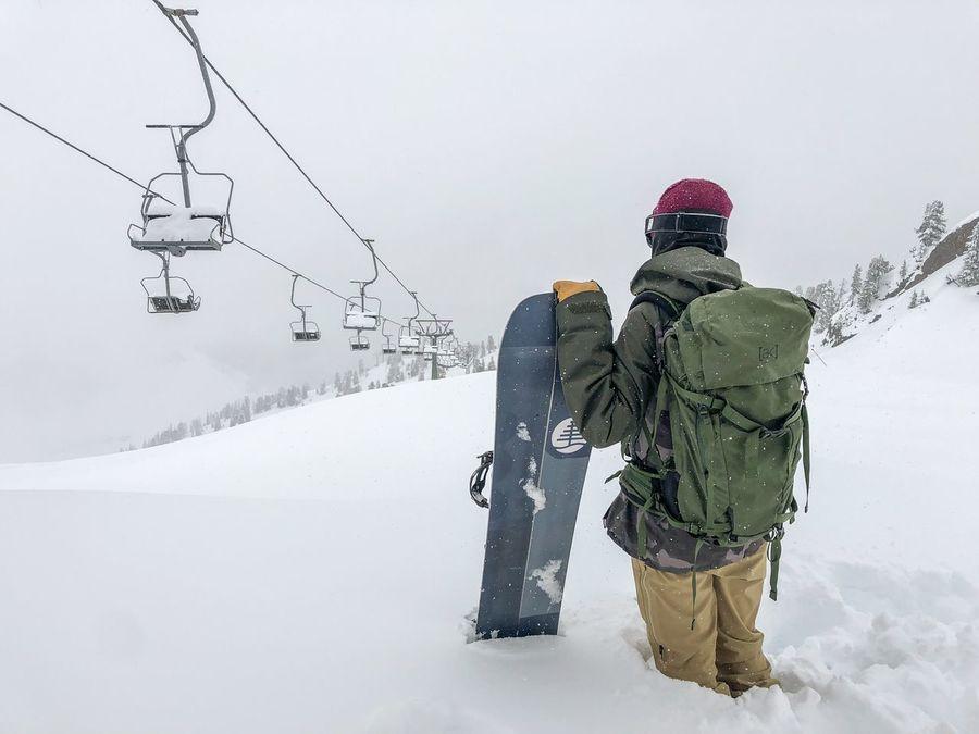 Tirol Life in White snowboard