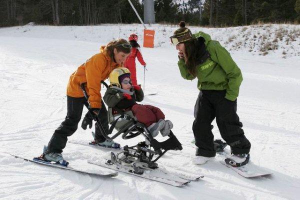 Portillo Recibe a Niños Discapacitados