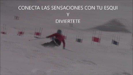 Entendiendo esquiar despacio.