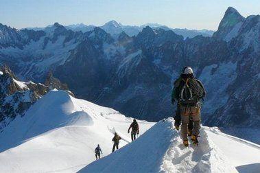 Contamine-Mazeaud (350m,II/3) al Mont Blanc de Tacul 4.248m