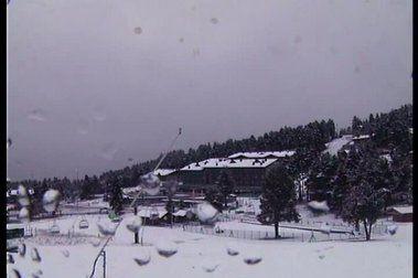 ¡Imágenes de la nevada!