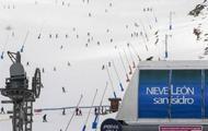 Los esquiadores de León a la espera de las medidas COVID más que de la  nieve