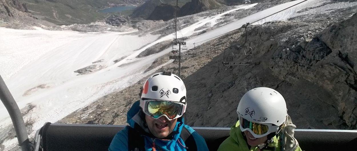 Esqui verano Alpes (Tignes y Les Deux Alpes)