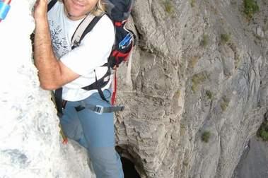 Vía Ferrata Sorrosal de Broto en el Pirineo Aragones