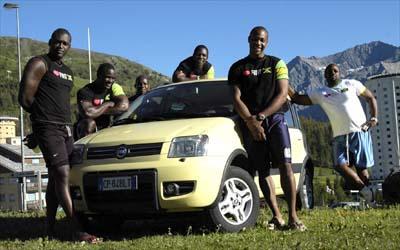 El equipo jamaicano de Bobsleigh