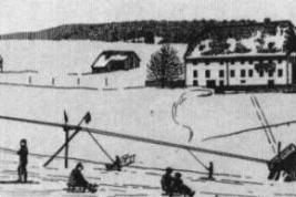 El primer remonte del mundo - The first skilift in the world