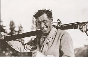 Hannes Schneider, el padre del esquí moderno - Hannes Schneider, father of modern skiing