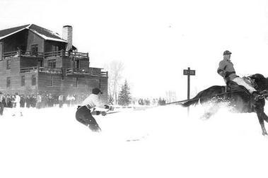 Ski Joring