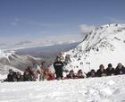 Los infantiles de la sección de alpino estrenan la temporada de competiciónes