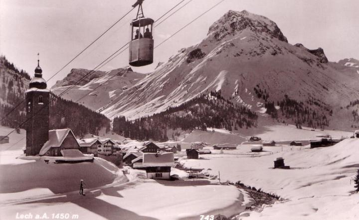 Lech - Zurs, en la cuna del esqui alpino - Lech - Zurs, in the cradle of alpine ski