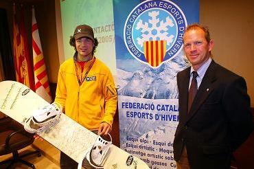 Diploma Olímpic per a Jordi Font