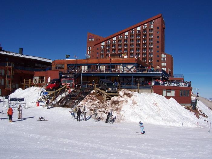Centro de Esquí Valle Nevado