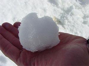 Nieve artificial a 30ºC