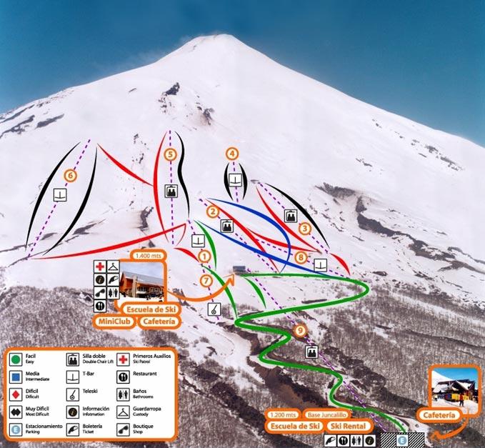 Centro de Esquí Pucón