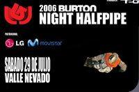 Pronto...  Halfpipe Nocturno en Valle Nevado