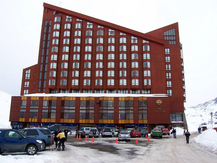 Hotel Puerta del Sol en Valle Nevado