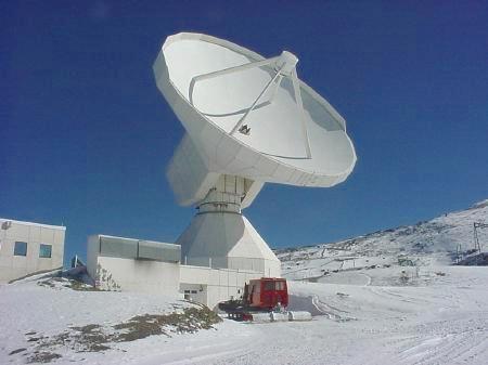 El radiotelescopio de sierra nevada a fondo nivalis for Antenas parabolicas en granada