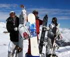Español Gana Torneo de Snowboard en Valle Nevado