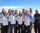 Selección Femenina de Ski de Francia  en La Parva