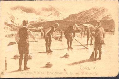 Curling en St. Moritz <br> <i>Curling in St. Moritz</i>