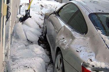 No dejes tu Porsche bajo la nieve...