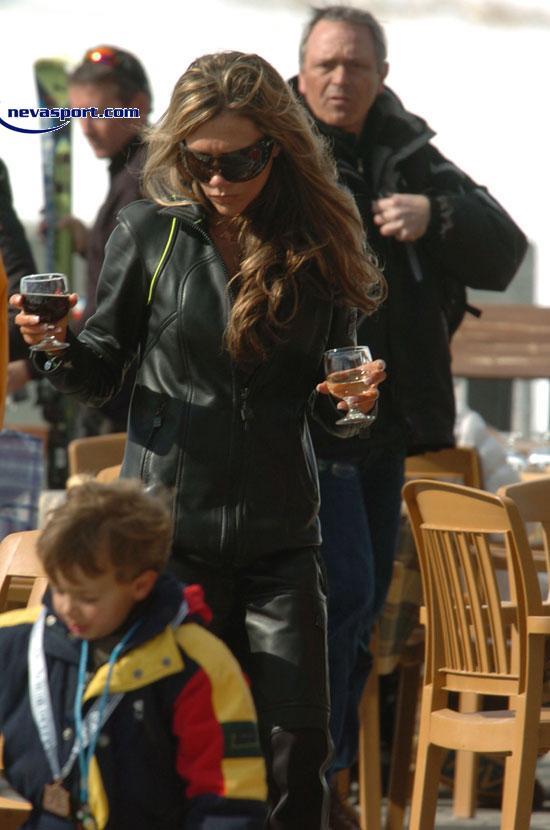 Victoria Beckham en Baqueira Beret