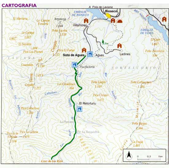 Ruta del Alba. mapa
