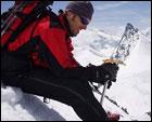 Esquí y Snowboard de montaña en el Allalinhorn 4027m.