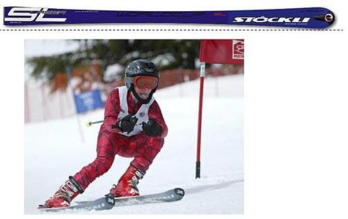 ¿Por qué gira un esquí?