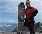 Deslizandonos por las faldas del explosivo volcán Saint Helens (2.550 m) Washington - USA