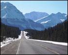 Luna de miel esquiando en Canadá
