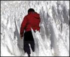 El Teide y sus nieves penitentes.