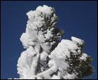 Aún hay mucha nieve en el Pirineo