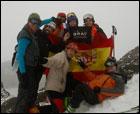 Encuentro esquí de travesía Francia-España, Semana Santa 2011