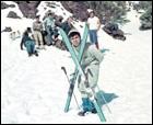 Retro esquí en el Teide