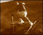 Esquiando en carbón