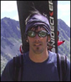 Snowboard de montaña en Punta Giordani