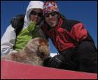 Montaña, nieve, sol, splitboard..... y sobre todo buena compañia.