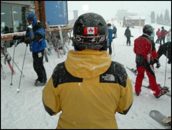 Esquí en Whistler - Enero 2006